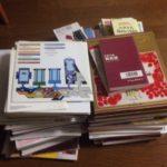 【片付け祭り】私の本は36冊になりました。