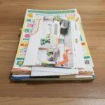 中日新聞【すっきりと書類片付け】の記事を読んで、書類を片付けました。