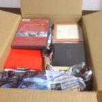 【もったいない本舗】いらない本、雑誌、CD、DVDをまとめて買取依頼しました。