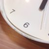 壁掛け時計を買いたいけど、慎重になり過ぎて決められない。